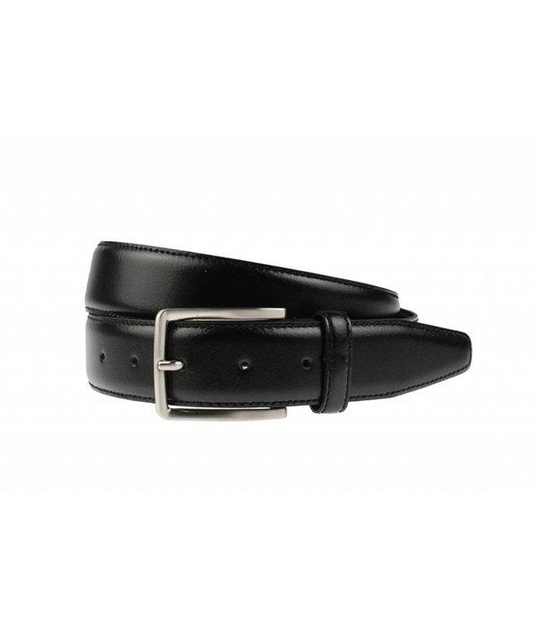 Alberto riemen Stijlvolle zwarte pantalonriem
