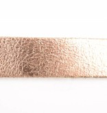 Take-It Stoere elegante smalle glimmend koperen riem