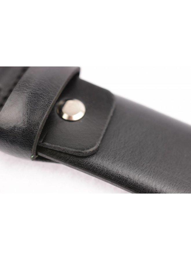 Zwarte pantalonriem