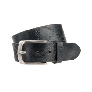 Stoere, zwarte jeansriem - 40 mm breed