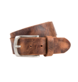 Eagle Belts Stoere, cognac jeansriem - 40 mm breed