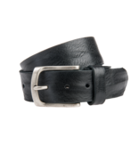 Eagle Belts Zwarte Vintage jeansriem - 40 mm breed