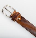 Eagle Belts Bruine Vintage jeansriem - 40 mm breed