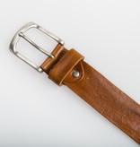 Eagle Belts Cognac Vintage jeansriem - 40 mm breed