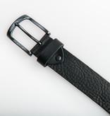 Eagle Belts Zwarte Pull-up jeansriem - 40 mm breed