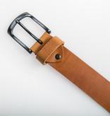 Eagle Belts Cognac Pull-up jeansriem - 40 mm breed