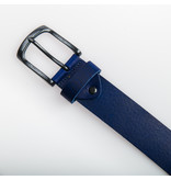 Eagle Belts Blauwe Pull-up jeansriem - 40 mm breed