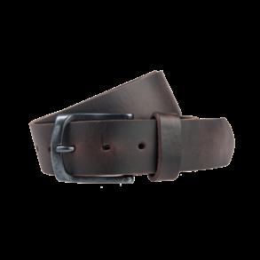 Bruine Pull-up jeansriem - 40 mm breed