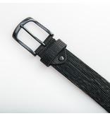 Eagle Belts Mooie zwarte jeansriem - 40 mm breed