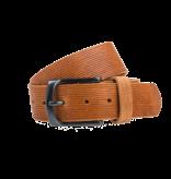 Eagle Belts Mooie cognac jeansriem - 40 mm breed