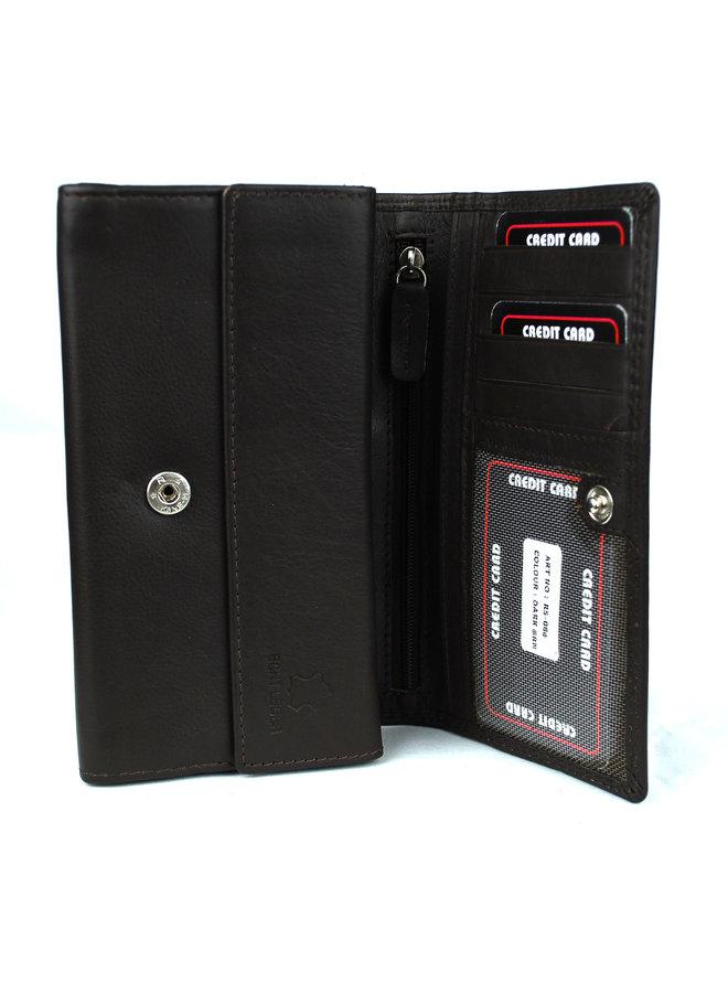 Damenbrieftasche Massi Milliano Leder (RS-086-15)