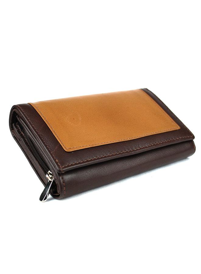 Damenbrieftasche Massi Milliano Leder (RS083-13)