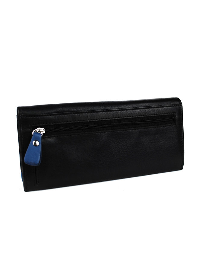 Damenbrieftasche Massi Milliano Leder (RG-009- (6 + 8)