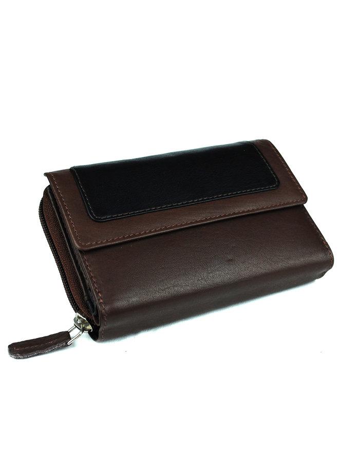 Damenbrieftasche Massi Miliano Leder (ST-2013-15 + 6)