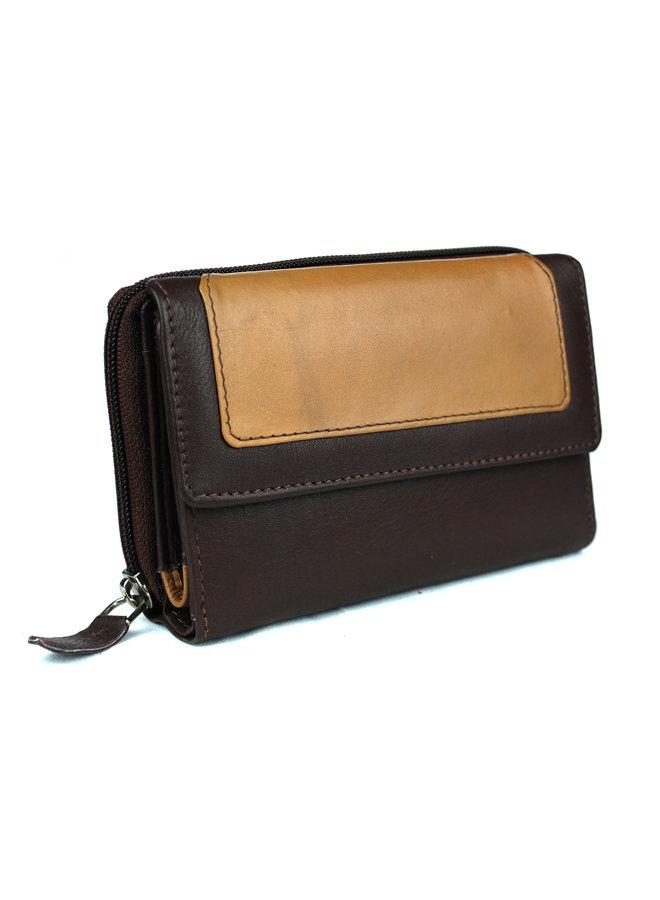 Damenbrieftasche Massi Miliano Leder (ST-2013-14 + 13)