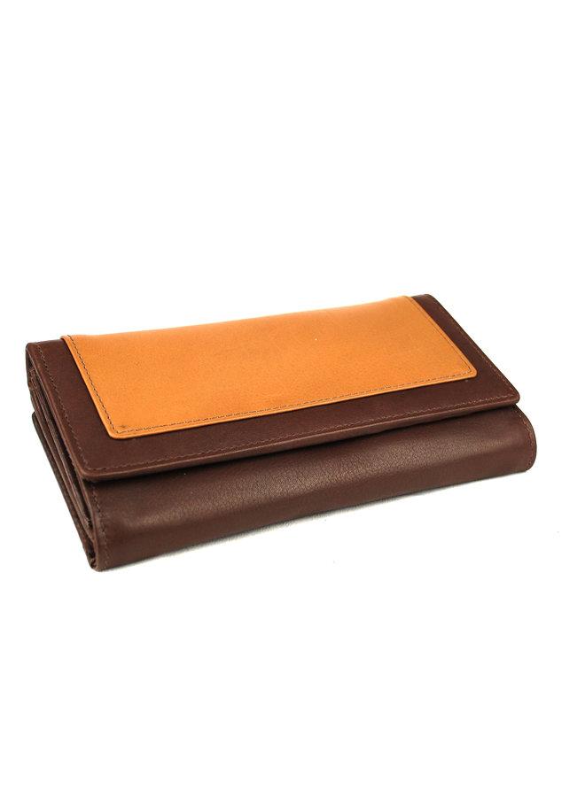 Damenbrieftasche Massi Miliano Leder (RS-901- (14 + 40)