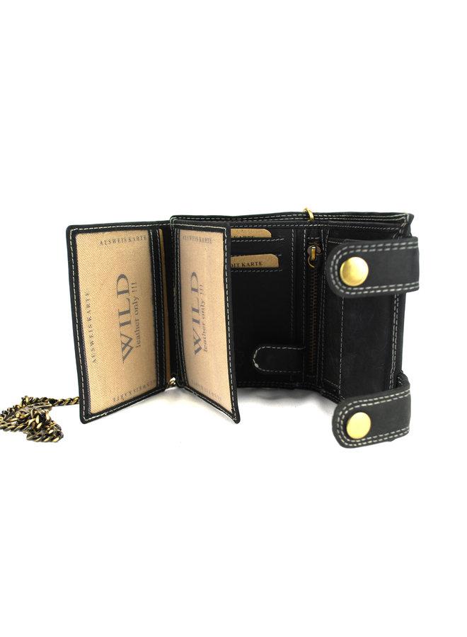 Brieftasche Herren Wild leder l.brown 11.5x2x9 cm (RS401NC-6)