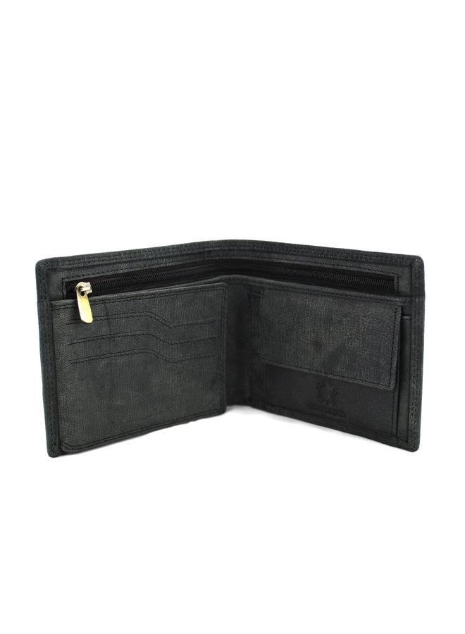 Brieftasche Herren Massi Milliano Leder 12x1x9.5 cm (2018B-6)