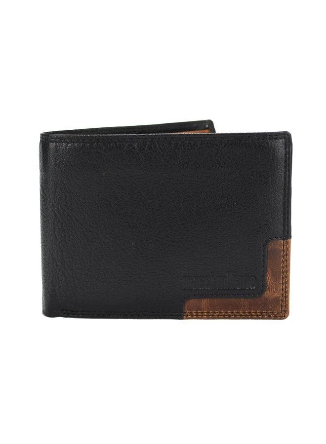 Brieftasche Herren Massi Milliano Leder 12x1x9.5 cm (2006B-6)