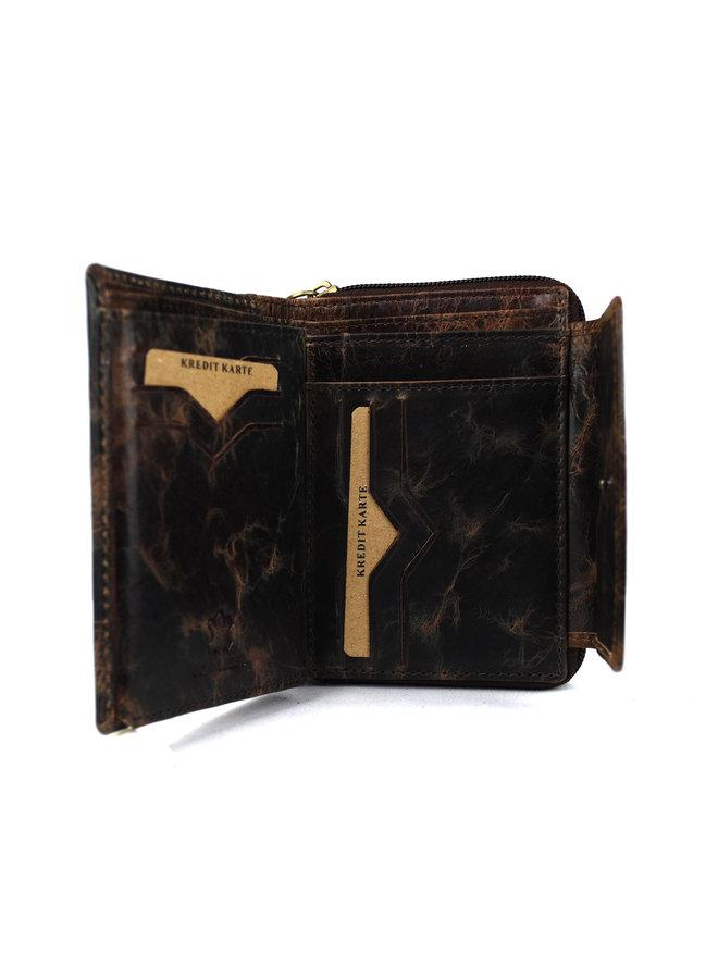 Brieftasche Damen Wild leder nur III (FLRS-30-15)