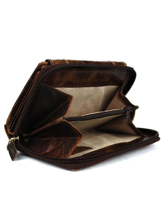 Brieftasche Damen Wild leder nur III (FLRS-30-14)