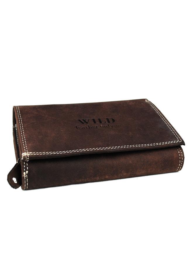 Brieftasche Damen Wild leder nur III (14018-15)