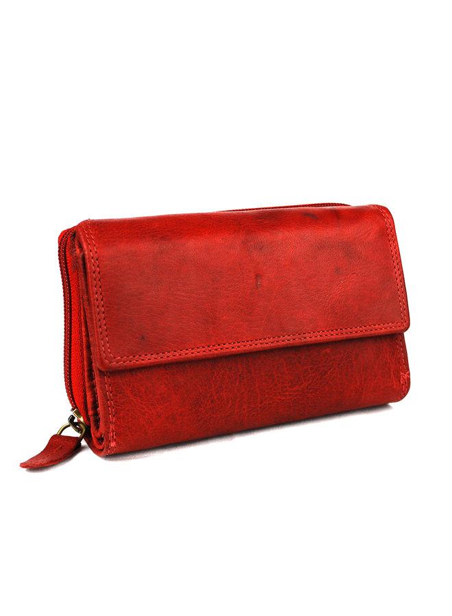 Brieftasche Damen Wild leder Büffel (FLRS-5019-2013-36)