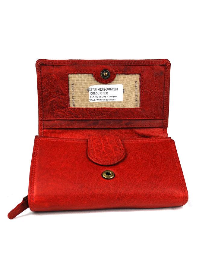 Brieftasche Damen Wild leder Büffel (FLRS-5016-2008-36)