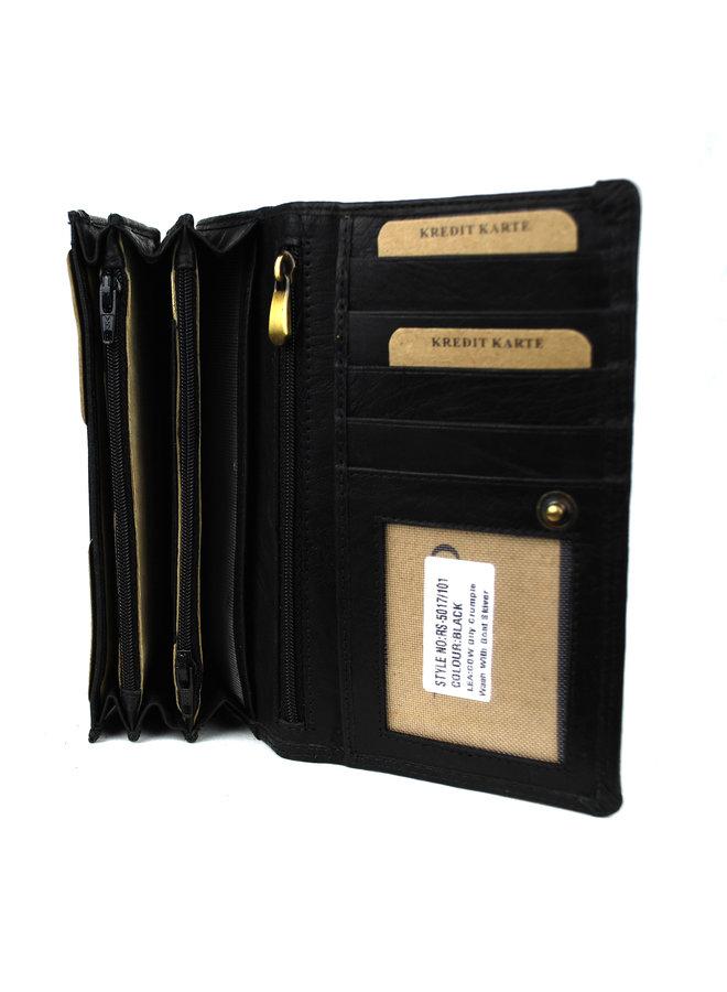 Brieftasche Damen Wild leder Buffalo (FLRS-5017-101-6)