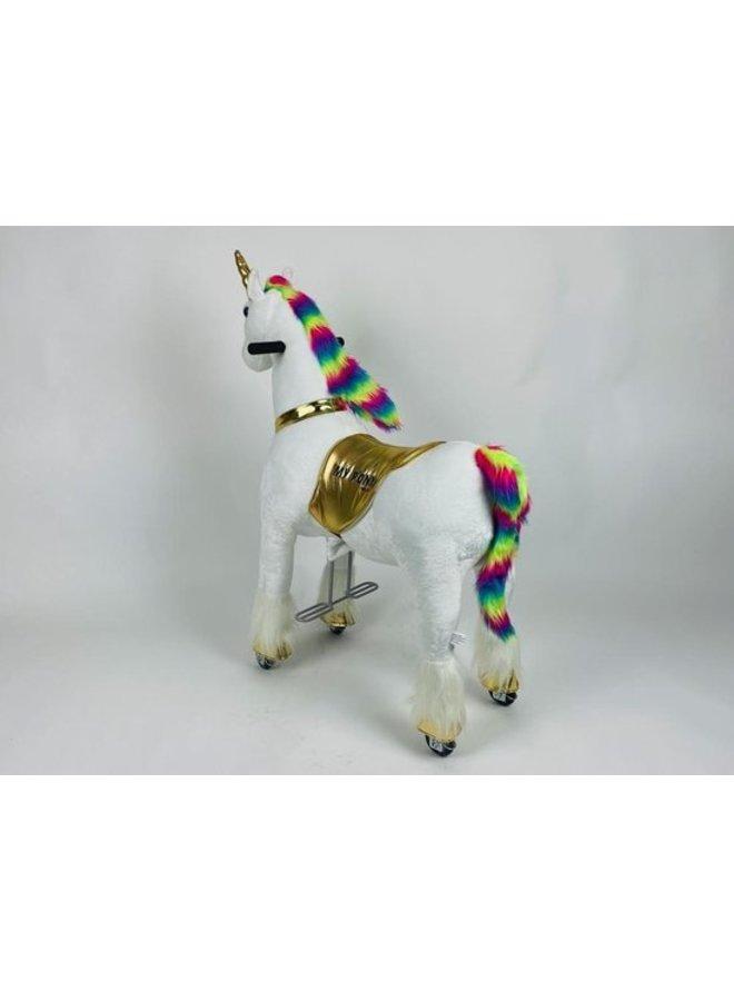 MY PONY by ROLLZONE ®, ride on Unicorn, 4 - 10 jaar (MP2020-M)