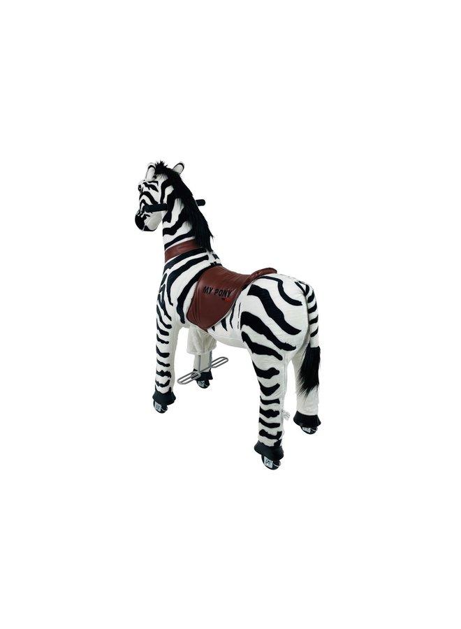 MY PONY door ROLLZONE ®, ride on Zebra, 4 - 10 jaar (MP2001-M)