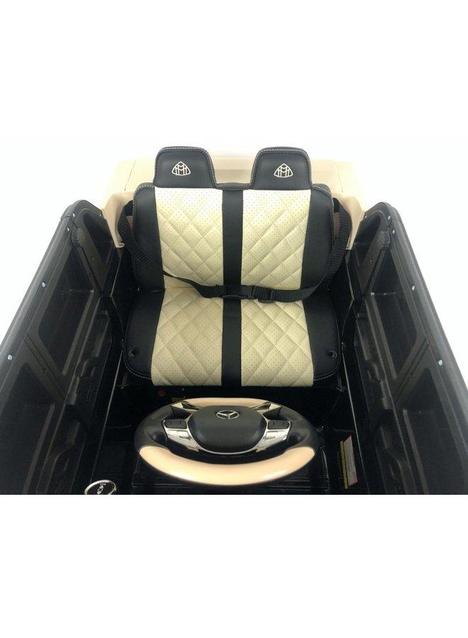 Mercedes Maybach G650, lederen stoel, rubberen EVA-banden (G650) (hoogglans rood)