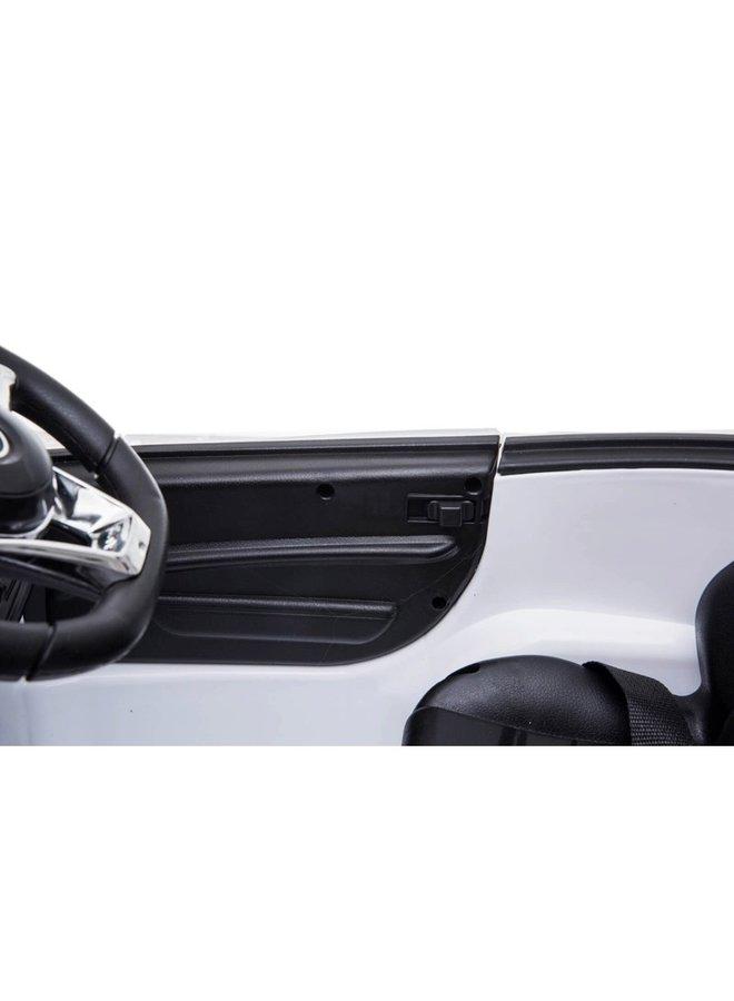 Mercedes-Benz SL65 AMG, muziekmodule, lederen stoel, rubberen EVA-banden (XMX602) (wit)