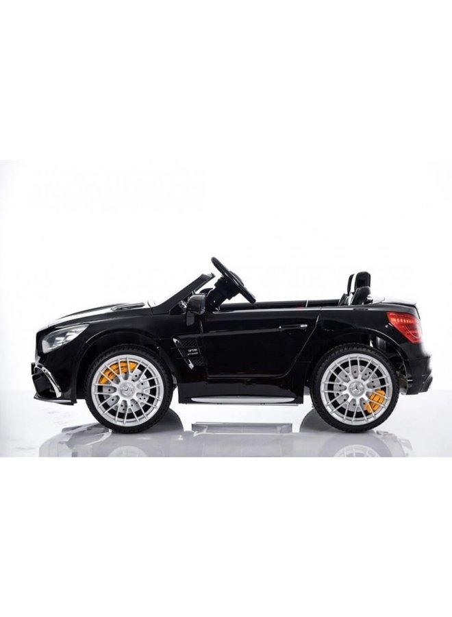 Mercedes-Benz SL65 AMG muziekmodule, lederen stoel, rubberen EVA-banden (XMX602) (hoogglans zwart)