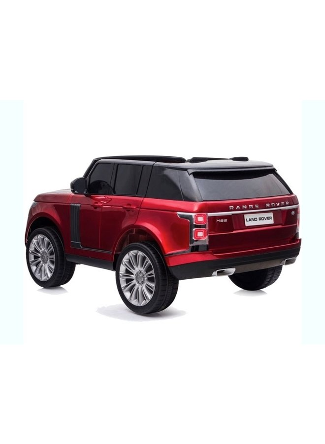 Land Rover, 2-seater (DK-RR999) (rood)
