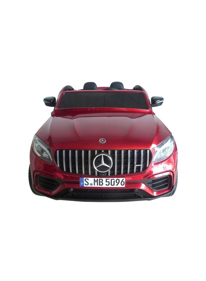 Mercedes-Benz GLC 63 S 4x4, MP4-display, 2-seater (XMX608) (hoogglans rood)