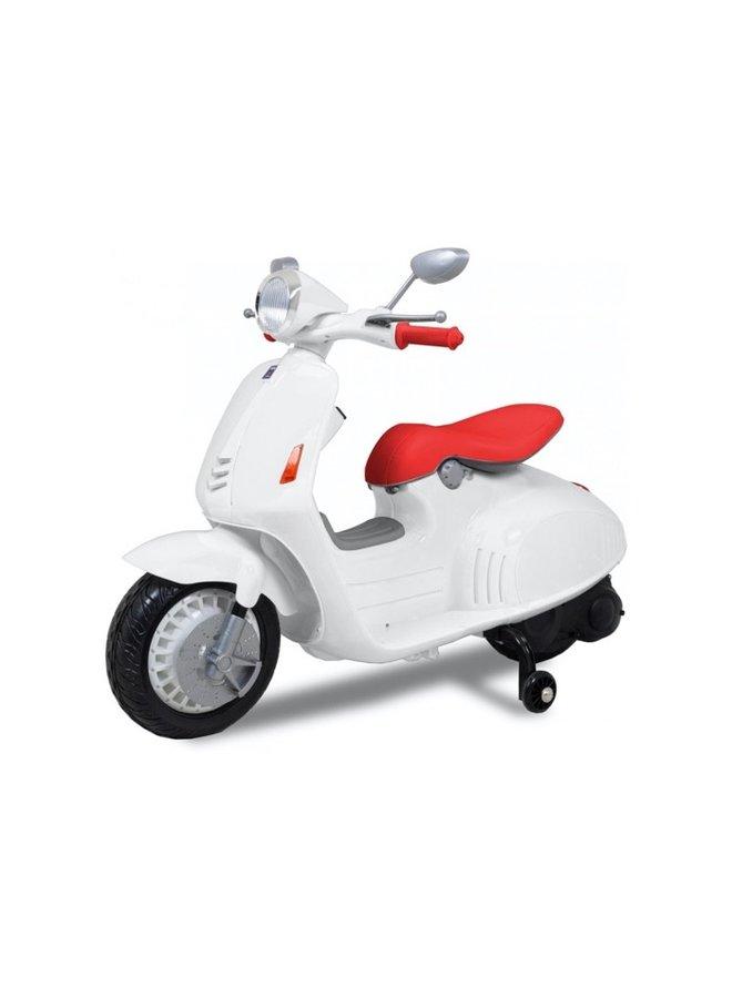 Elektrische scooter 12v (CH8820) (wit)