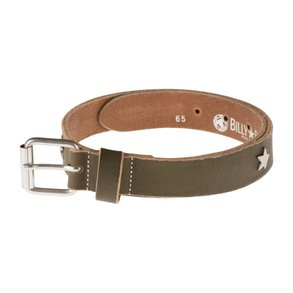 Billy Belt riem met studs - groen