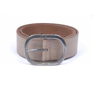 Grijs/taupe dames jeansriem 4,5 cm