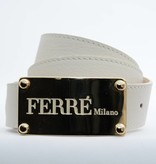 Ferré Milano Off-white damesriem