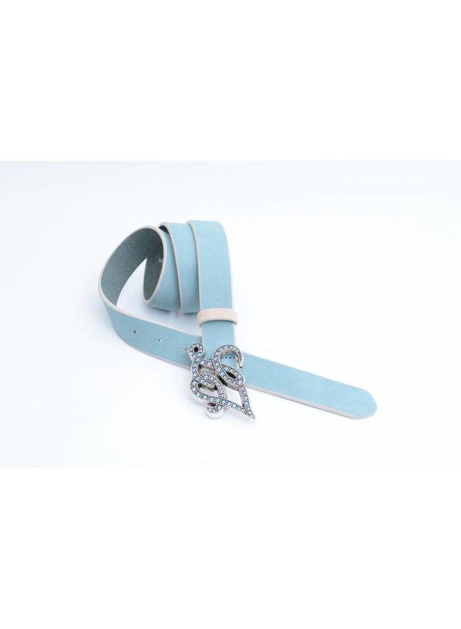 Turquoise/licht Blauwe Lui-Jo Damesriem