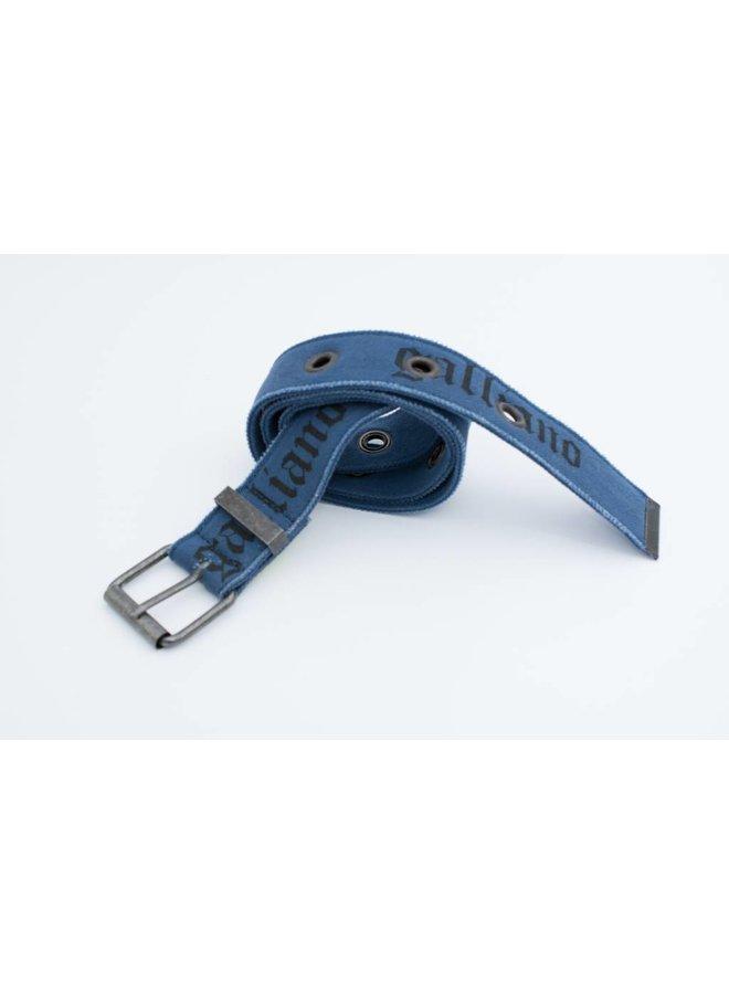 Stoere blauwe riem