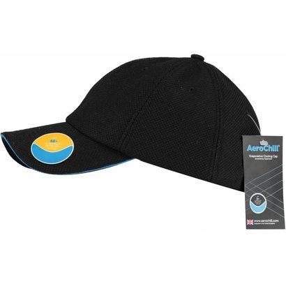 Hyperkewl Aerochill coolingcap zwart/blauw