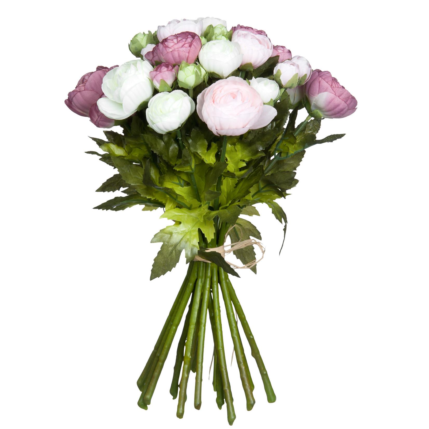 Bouquet ranunculus pink Large