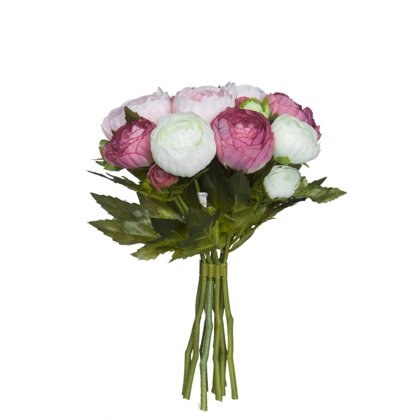 Bouquet ranunculus pink