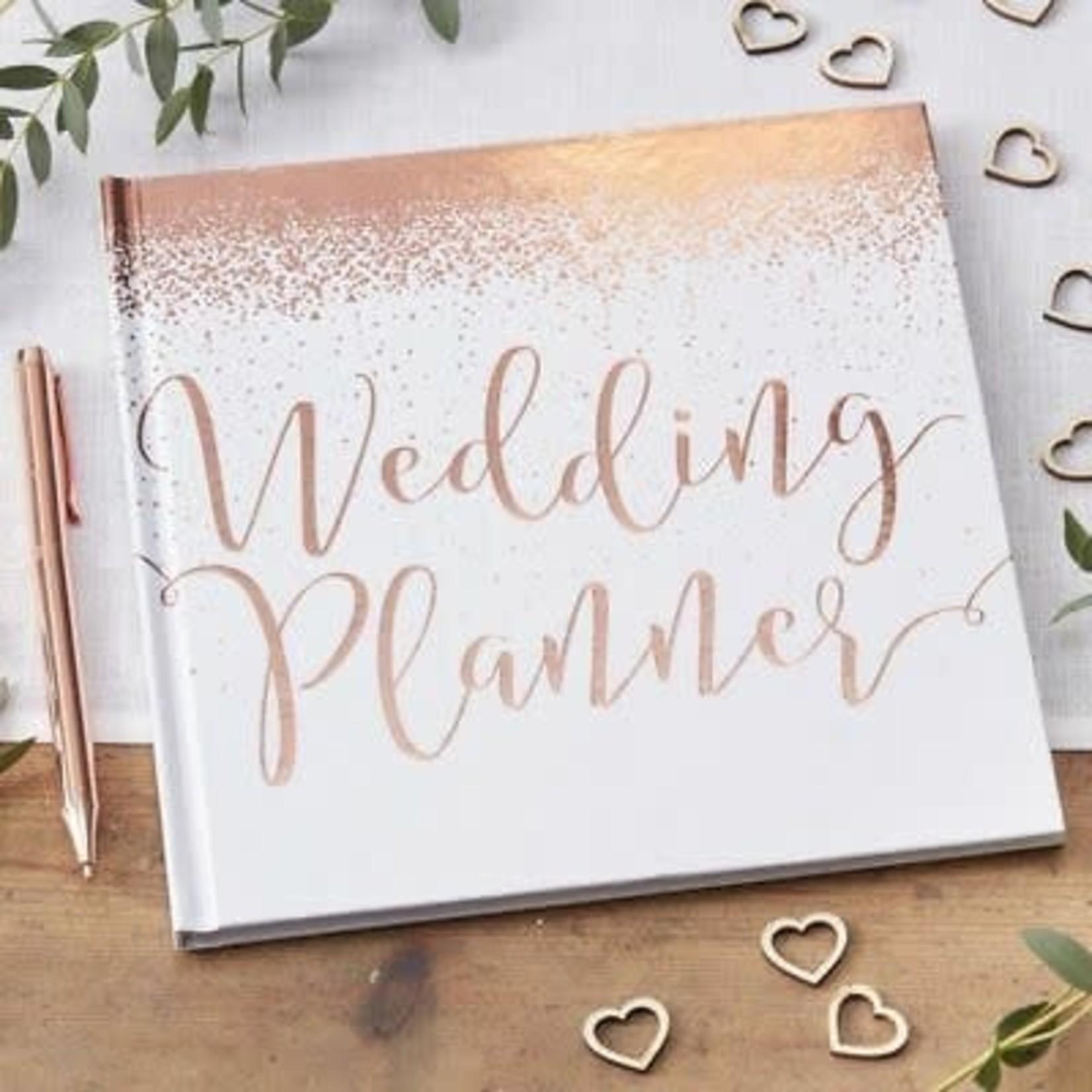 Wedding Planner - Rose Gold