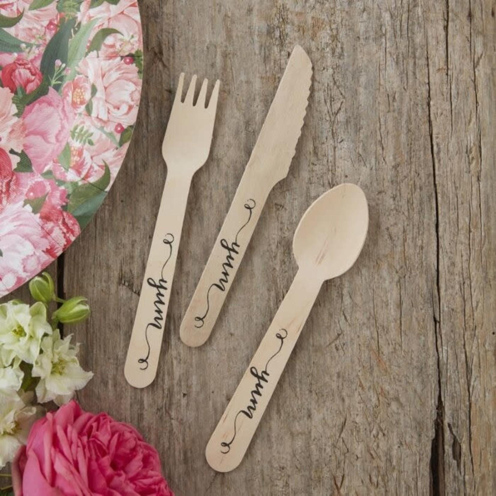 Wooden Cutlery Boho