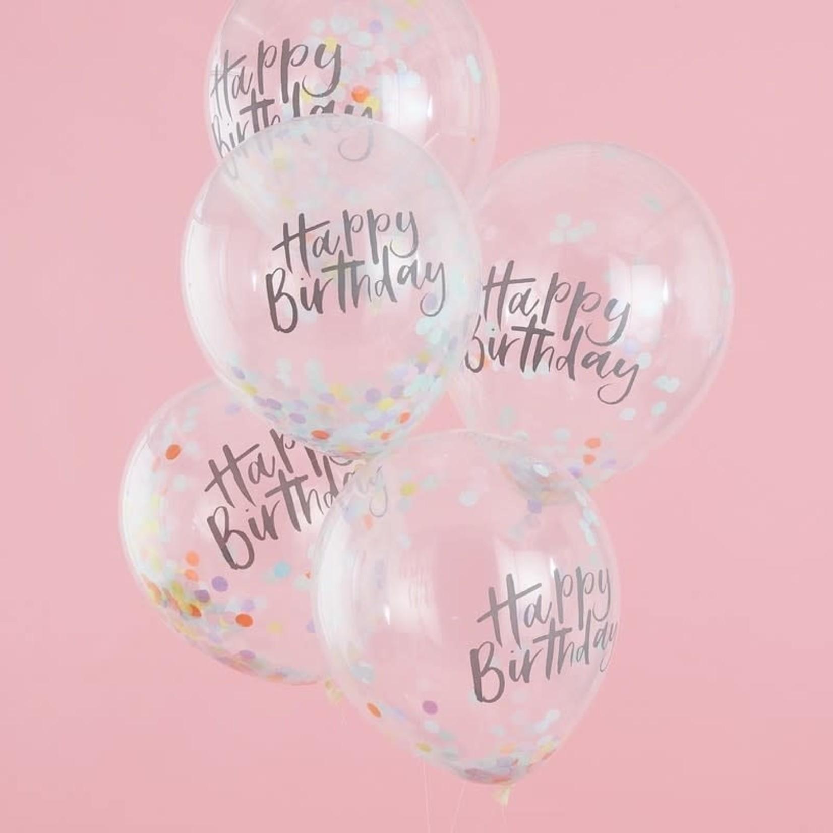 Pastel Party -Confetti Balloon