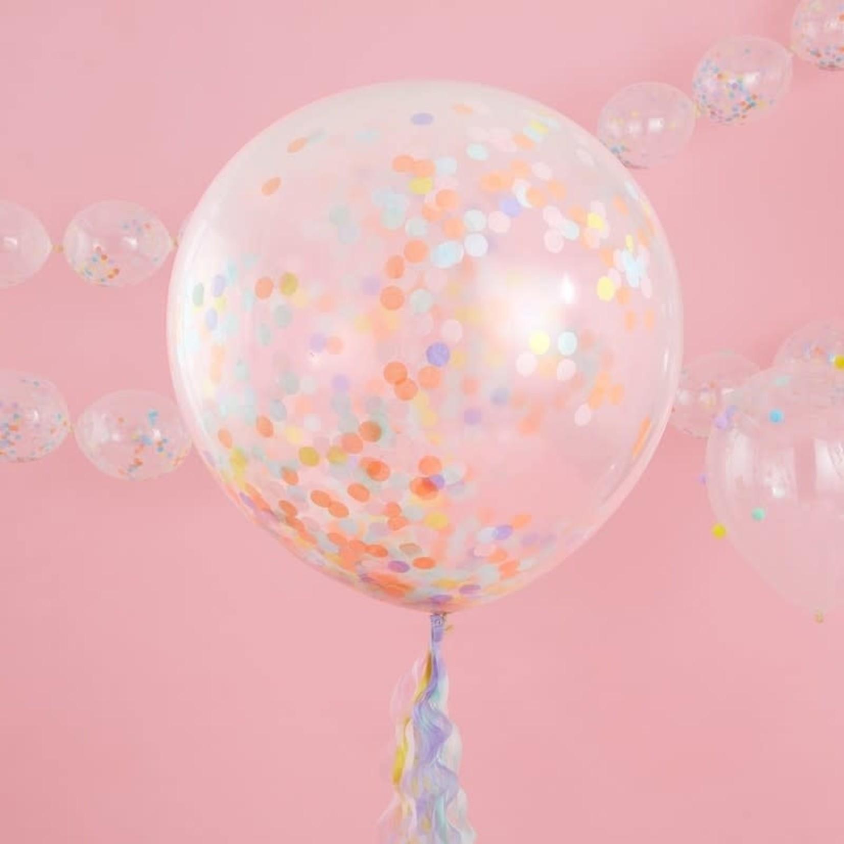 Pastel Party -Giant Confetti B