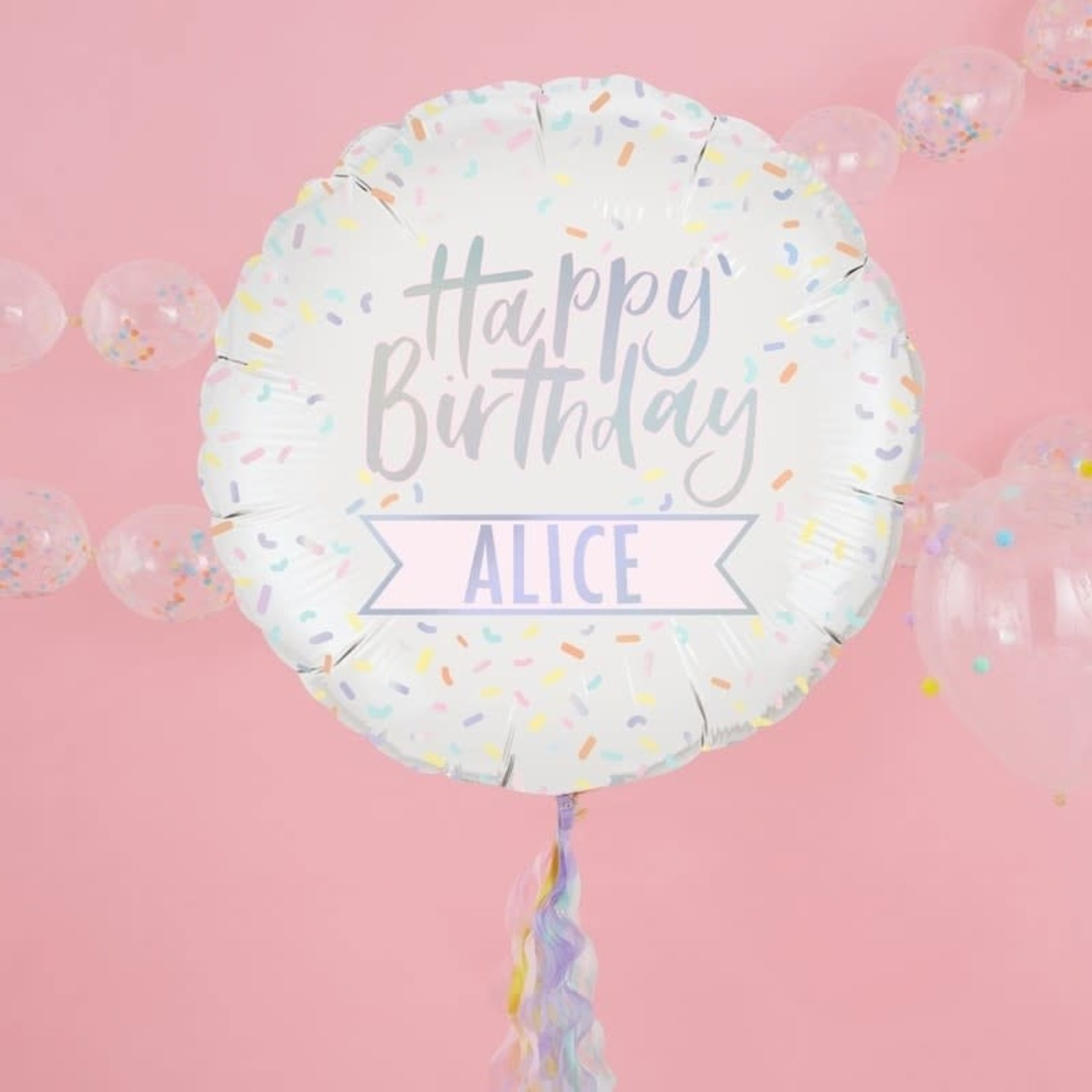 Pastel Party - Customised 24IN